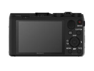 Sony DSC-HX50V Manual - camera rear side