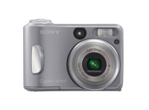 Sony DSC S60 Manual - camera front face