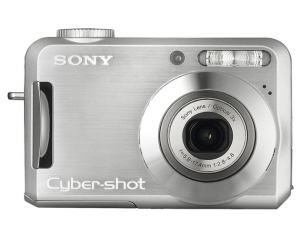 Sony DSC S700 Manual - camera front face