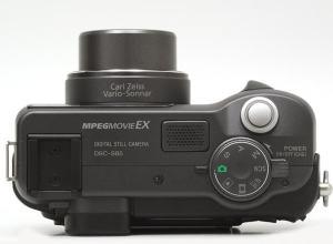 Sony DSC-S85 Manual - camera top plate
