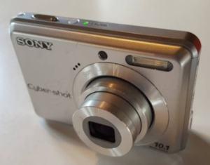 Sony DSC-S930 Manual - camera side