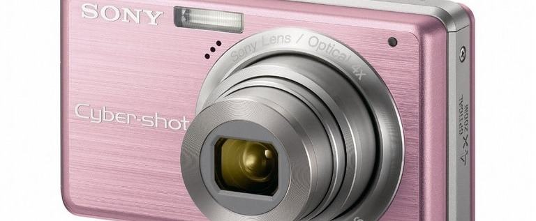 Sony DSC S950 Manual - camera front face