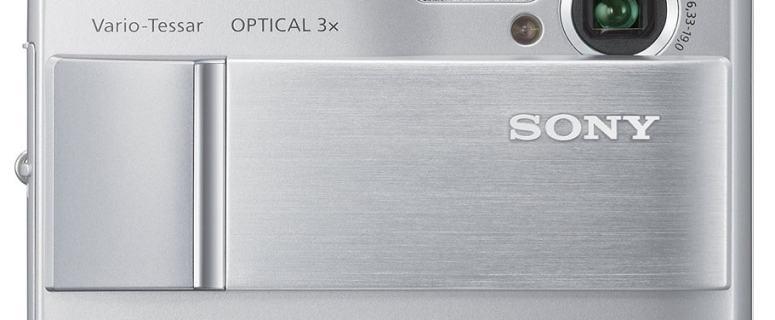 Sony DSC T10 Manual - camera front face