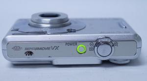 Sony DSC W30 Manual - camera side