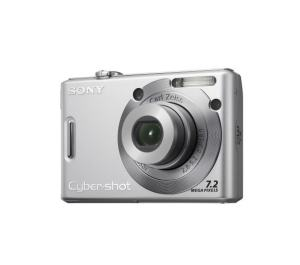 Sony DSC W35 Manual - camera front face