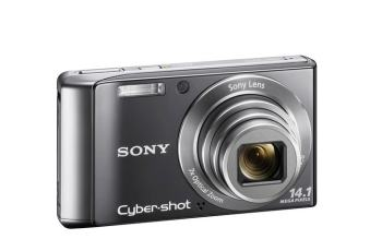 Sony DSC-W370 Manual - camera front face