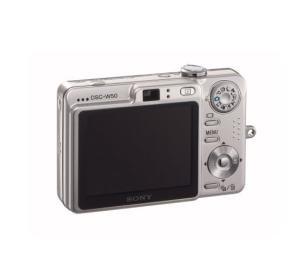 Sony DSC-W50 Manual - camera rear side