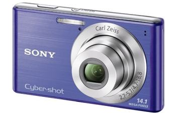 Sony DSC W530 Manual - camera front face