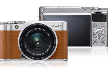 Fujifilm X-A20 Newly Released Non-Intrue Digital Camera with New Bayer Color Filtration System