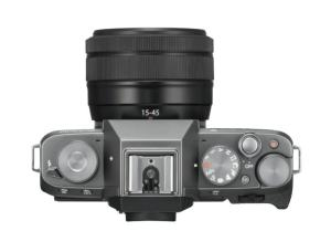 Fujifilm X-T100 - camera top plate