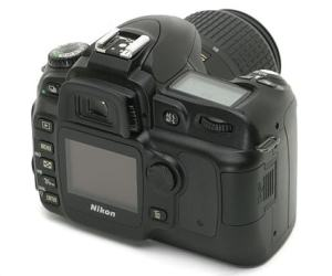 Nikon D50 Manual - camera rear side
