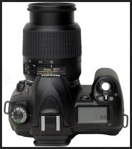 Nikon D50 Manual - camera top plate
