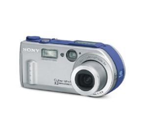 Sony DSC P1 Manual - camera front face