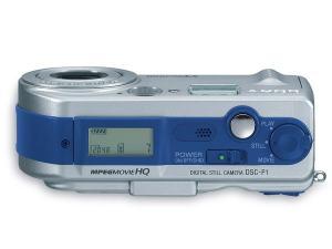 Sony DSC P1 Manual - top plate