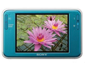 Sony DSC T2 Quick Manual - camera rear side