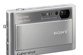 Sony DSC T20 Manual User Guide and Product Specification