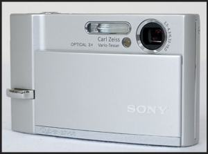 Sony DSC T30 Manual - camera front face