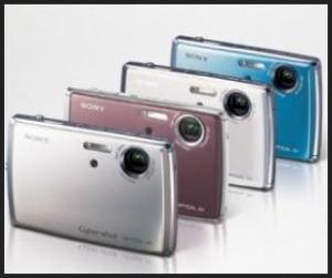 Sony DSC T33 Manual - camera variants