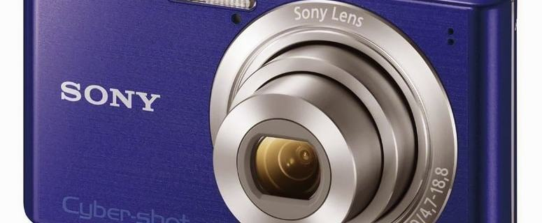 Sony DSC W610 Manual - camera front face