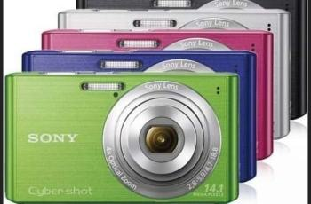 Sony DSC W620 Manual - camera variants