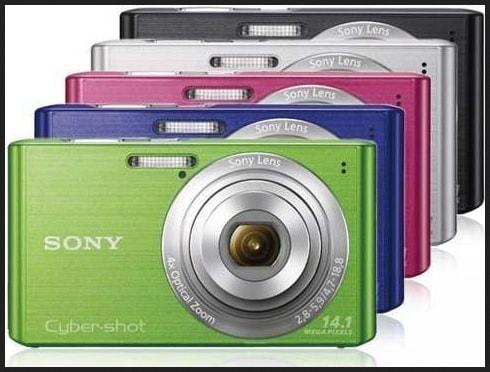 Sony DSC W620 Manual - camera variants