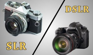 Info: The Difference Between SLR and DSLR Cameras 1