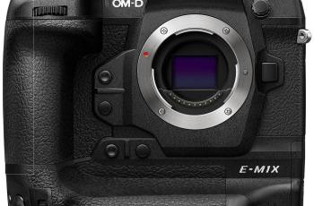 Olympus OM D E M1X: Micro Four Thirds Camera for Pro Sport 1