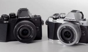 2 models of Olympus OM-D E-M10 Mark II Camera