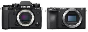 Fujifilm X-T3 vs. Sony A6500: Camera's Body