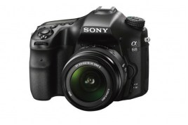 DSLR for beginner: Sony A68