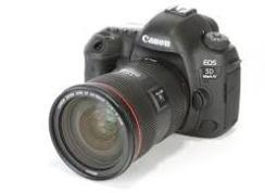Canon DSLR: Canon EOS 5D Mark IV