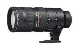 Nikon Lens: AF-S 70-200mm f / 2.8E