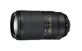 Nikon Lens: AF-P 70-300mm f / 4.5-5.6E ED VR