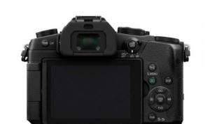 Panasonic Lumix DMC-G85  : Camera's Body