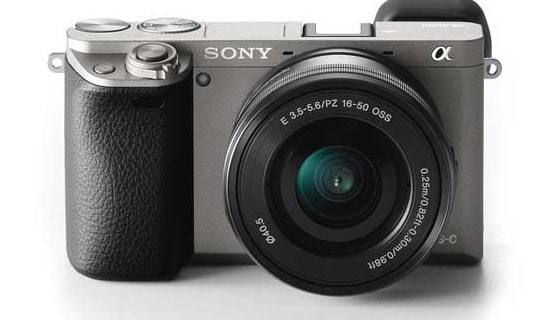 mirroless camera from Sony