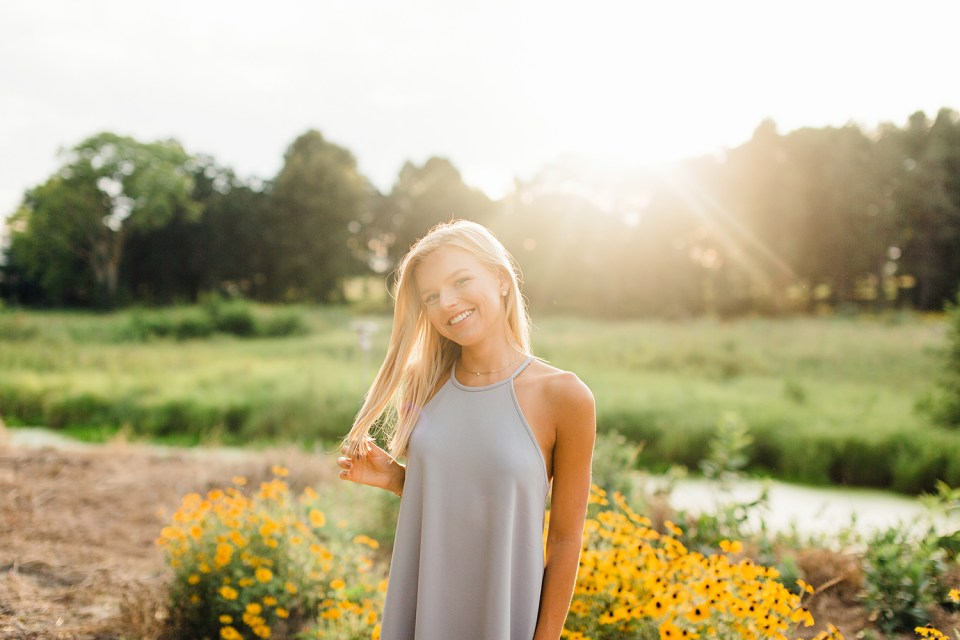 Olivia Class of 2018 Senior Experience with Cameron and Tia