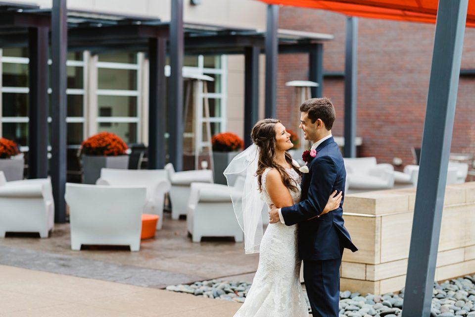 Stunning Wedding with Joyful Bride and Groom