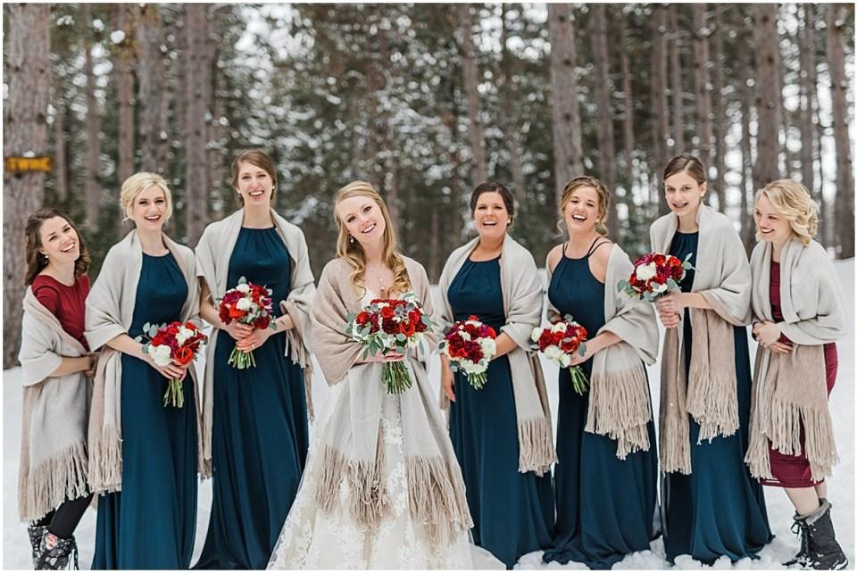 Minneapolis Winter Wonderland Wedding