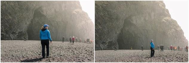 Adventurous Elopement and Wedding Photographer in Iceland Black Sand Beach