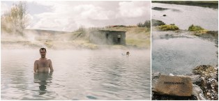 Destination Wedding photographers at Secret Lagoon in Iceland