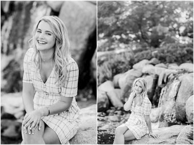 Black and White Senior Pictures