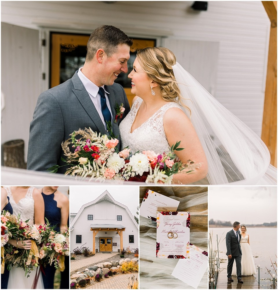 Gathered Oaks Barn Fall Wedding