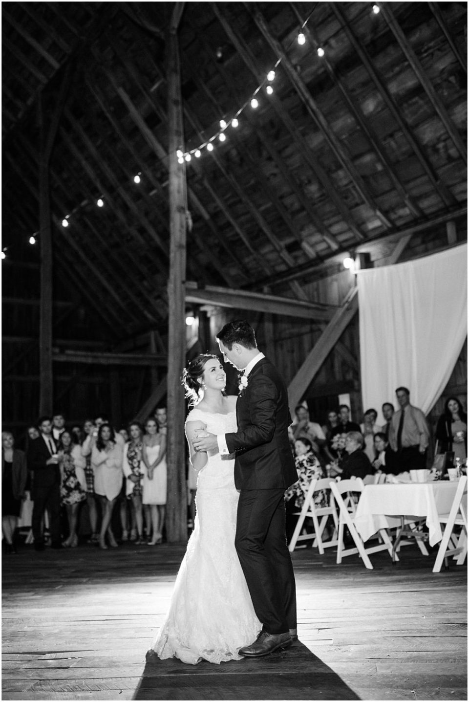 Cameron and Tia Our Wedding Music Chocies doing a first dance