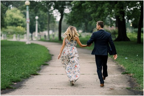 Chicago Destination Couples Session by Cameron and Tia Destination Wedding Photographers at Lincoln Park