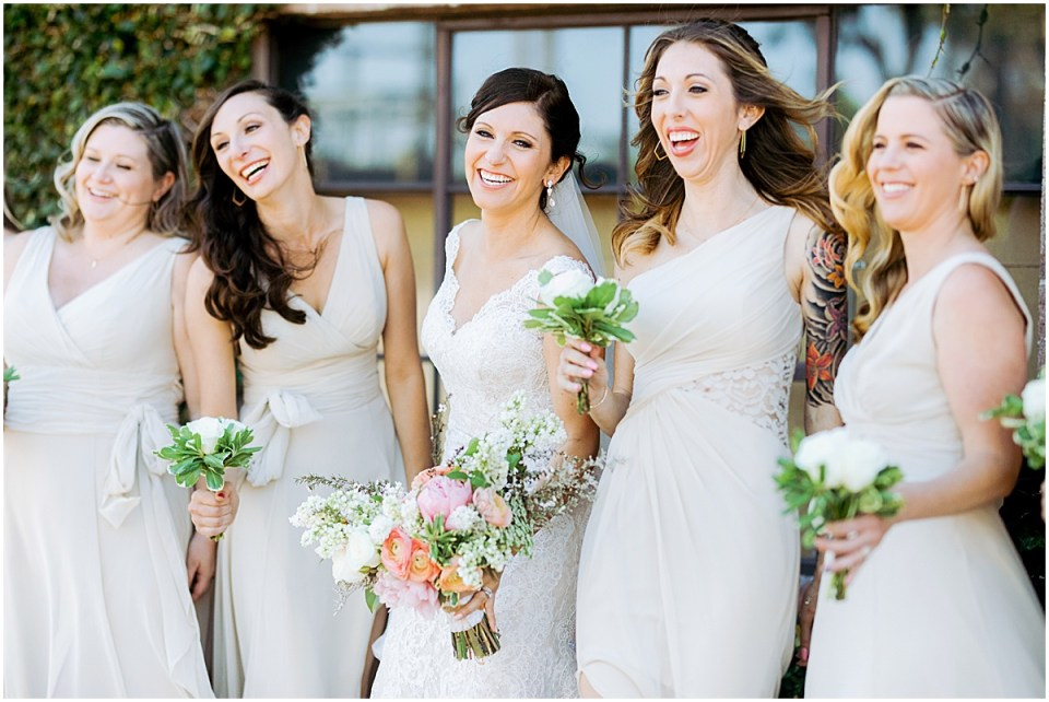 Los Angeles Destination Wedding at Smoky Hollow Studios by Cameron and Tia Photography bridesmaids