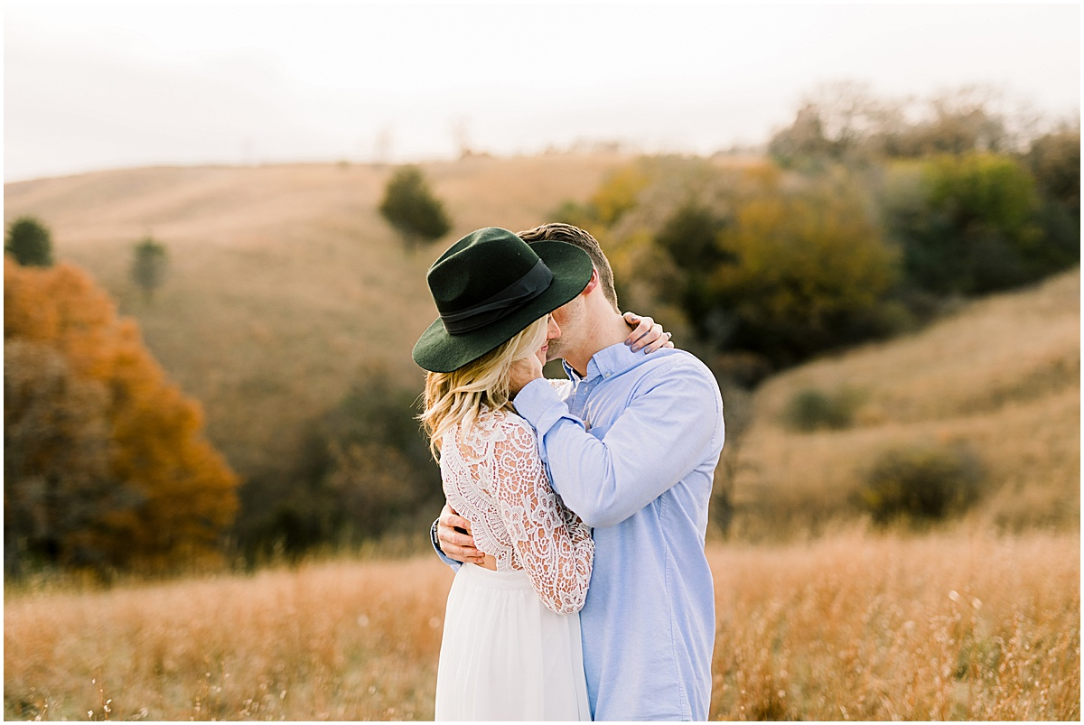 Romantic Eden Prairie Bluffs Couples Session