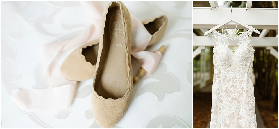 Bearpath Golf and Country Club Spring Wedding shoes