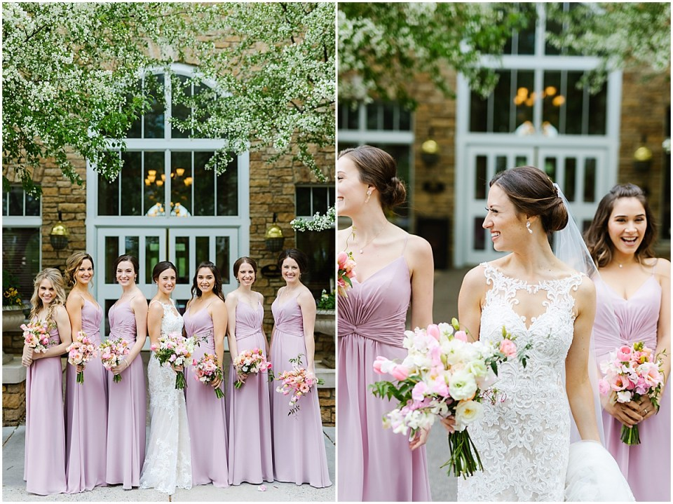Bearpath Country Club Spring  Wedding bridesmaids