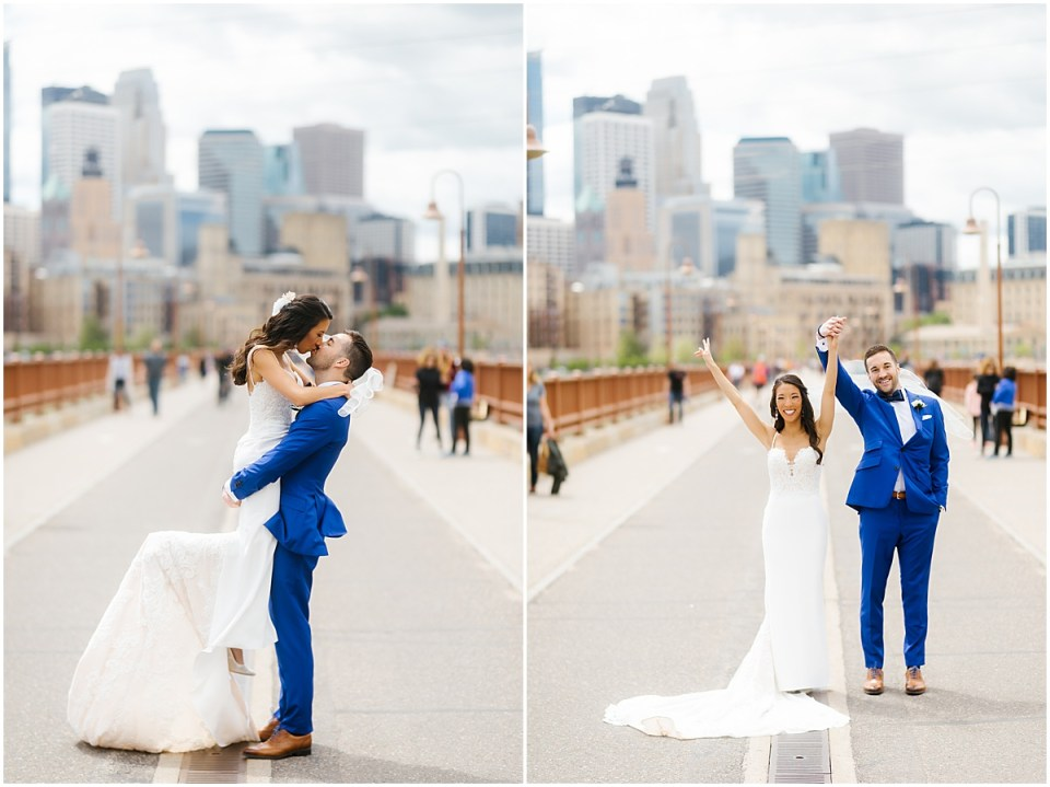 Stone Arch Bridge Minneapolis Event Centers Wedding
