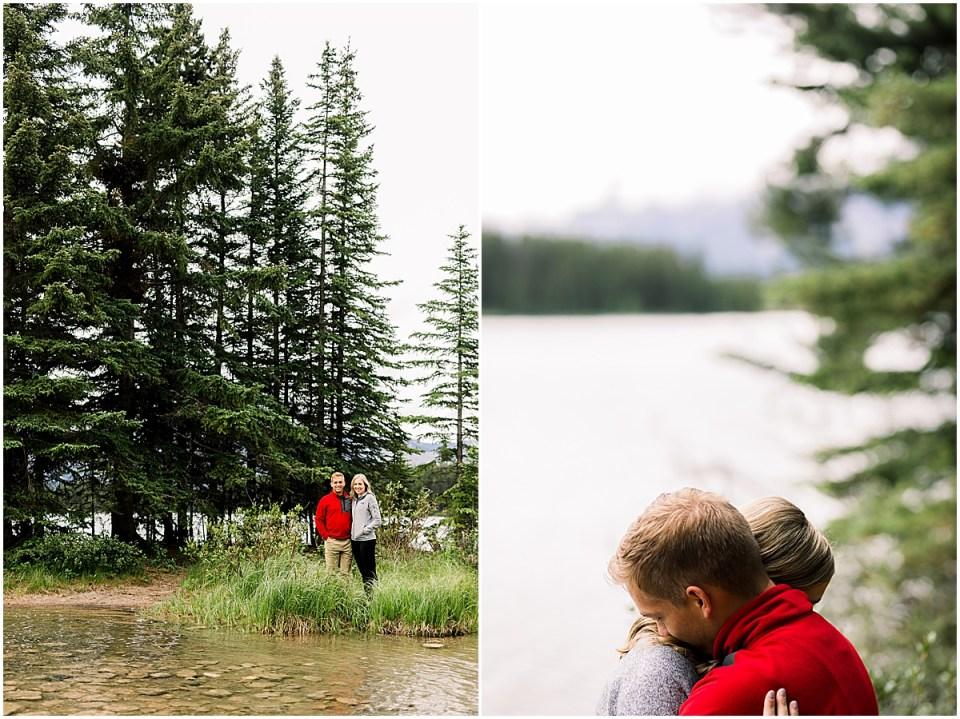 Two Jack Lake Destination Engagement Session
